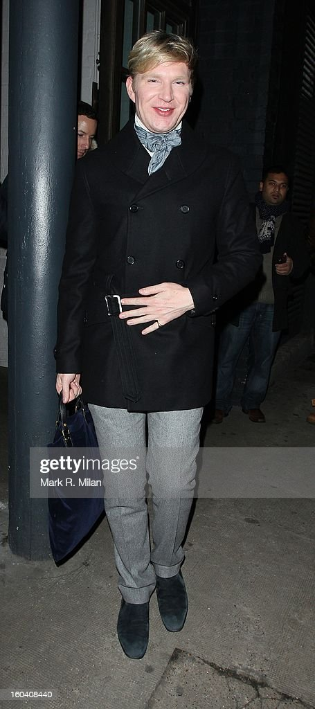 Henry Conway attending the InStyle Best of British Talent party held at Shoreditch House on January 30, 2013 in London, England.