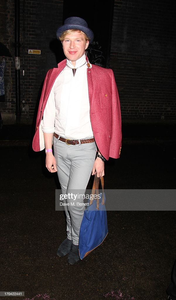 Henry Conway attends Club DKNY in celebration of #DKNYARTWORKS hosted by Cara Delevingne with special performances by Rita Ora and Iggy Azalea at The Fire Station on June 12, 2013 in London, England.