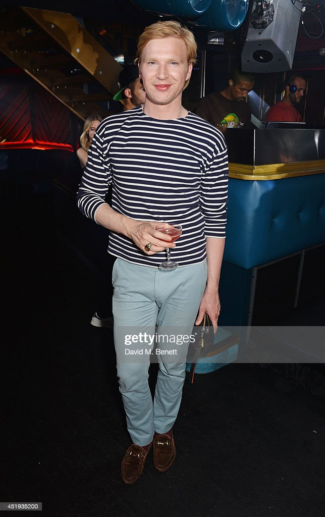Henry Conway attends Jo Wood and Yasmin Mill's Summer Party at Boujis on July 9, 2014 in London, England.