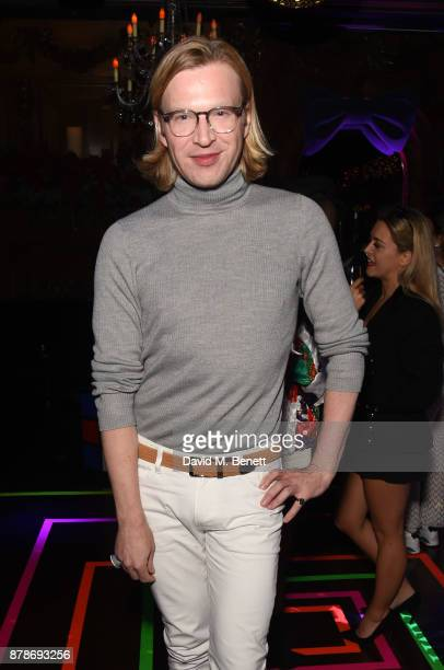 Henry Conway attends Ollie Chambers Antoin Commane's annual themed party at Tramp on November 24 2017 in London England