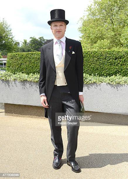 Henry Conway attends Royal Ascot 2015 at Ascot racecourse on June 16 2015 in Ascot England