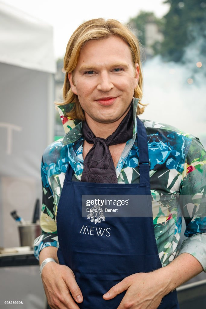 Henry Conway attends The Bulleit Woody at London Food Month's Night Market with The London Evening Standard on June 7, 2017 in London, England.