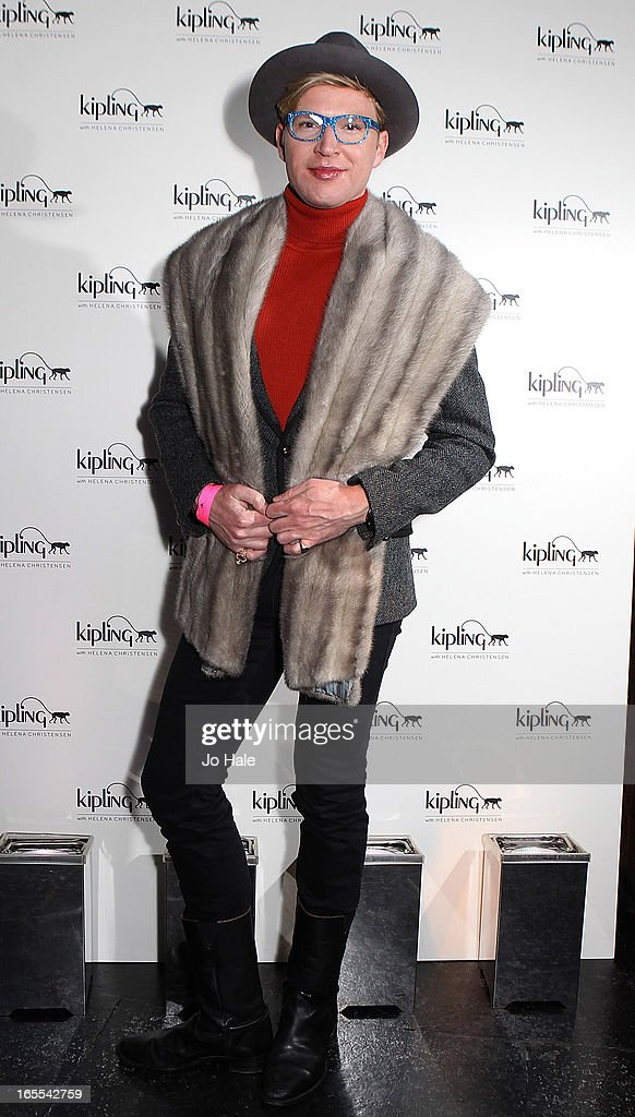 Henry Conway attends the launch of new hangbag collection 'Kipling x Helena Christensen' at Beach Blanket Babylon on April 4, 2013 in London, England.