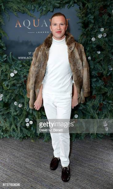 Henry Conway attends the launch of The Nordic Winter Garden at Aquavit by McQueens on November 13 2017 in London England