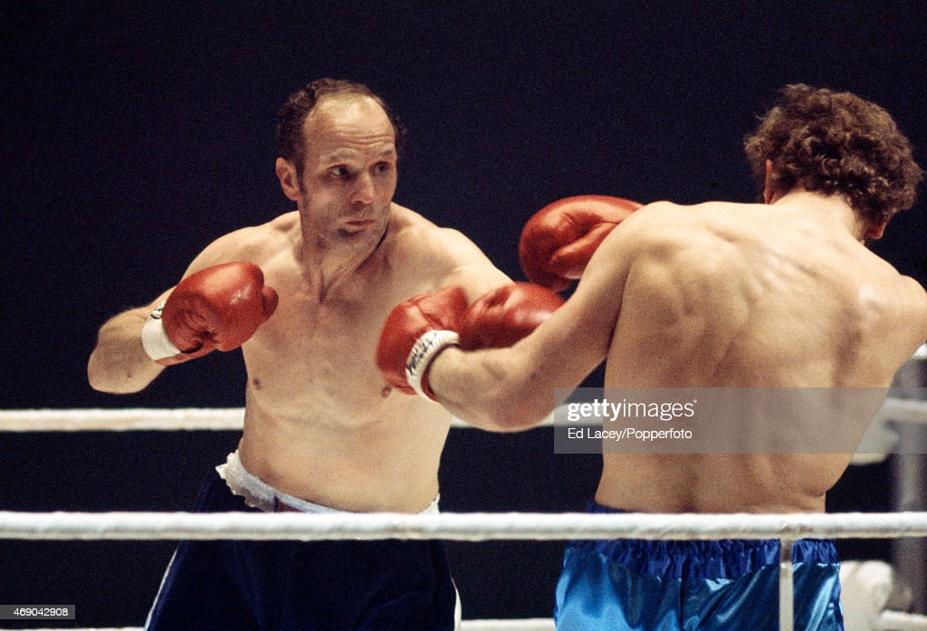 <a gi-track='captionPersonalityLinkClicked' href=/galleries/search?phrase=Henry+Cooper&family=editorial&specificpeople=93511 ng-click='$event.stopPropagation()'>Henry Cooper</a> (left) and <a gi-track='captionPersonalityLinkClicked' href=/galleries/search?phrase=Joe+Bugner&family=editorial&specificpeople=239003 ng-click='$event.stopPropagation()'>Joe Bugner</a> of Great Britain in action during the British Heavyweight Title match at the Empire Pool in Wembley on 16th March, 1971.