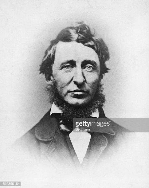 Henry D Thoreau in portrait Undated photograph