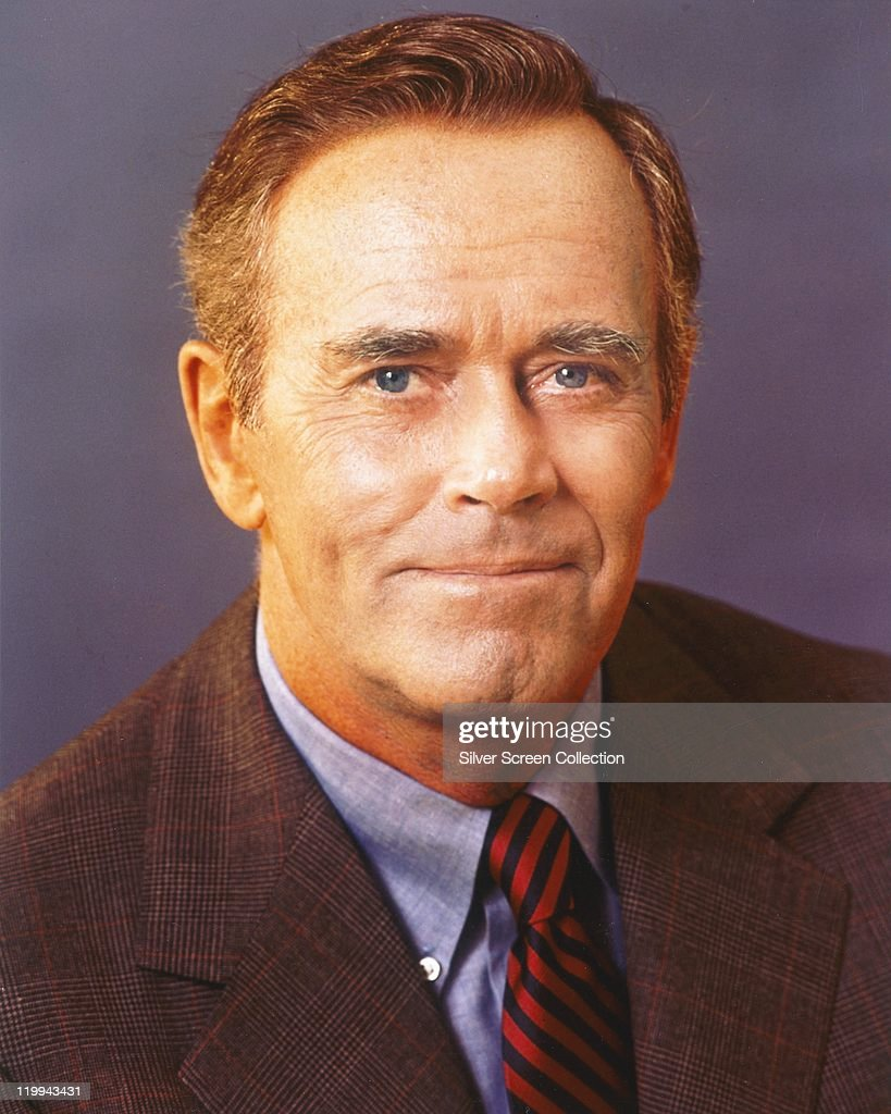 <a gi-track='captionPersonalityLinkClicked' href=/galleries/search?phrase=Henry+Fonda&family=editorial&specificpeople=93512 ng-click='$event.stopPropagation()'>Henry Fonda</a> (1905-1982), US actor, wearing a tweed jacket, a blue shirt, and a red-and-black striped tie, in a studio portrait, against a lilac background, circa 1960.