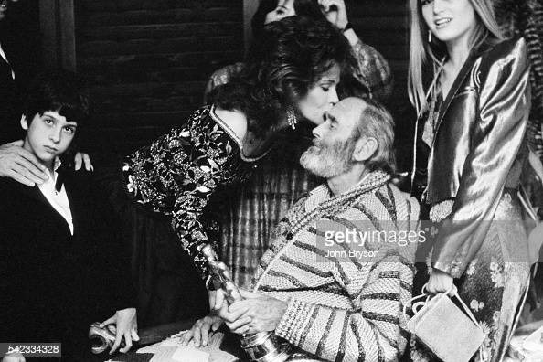 Henry Fonda wins the award for Best Actor in a Leading Role for On Golden Pond directed by Mark Rydell He is surrounded by his daughter actress...