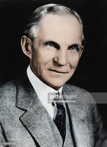 Henry Ford American engineer and automobile manufacturer Credit Ford