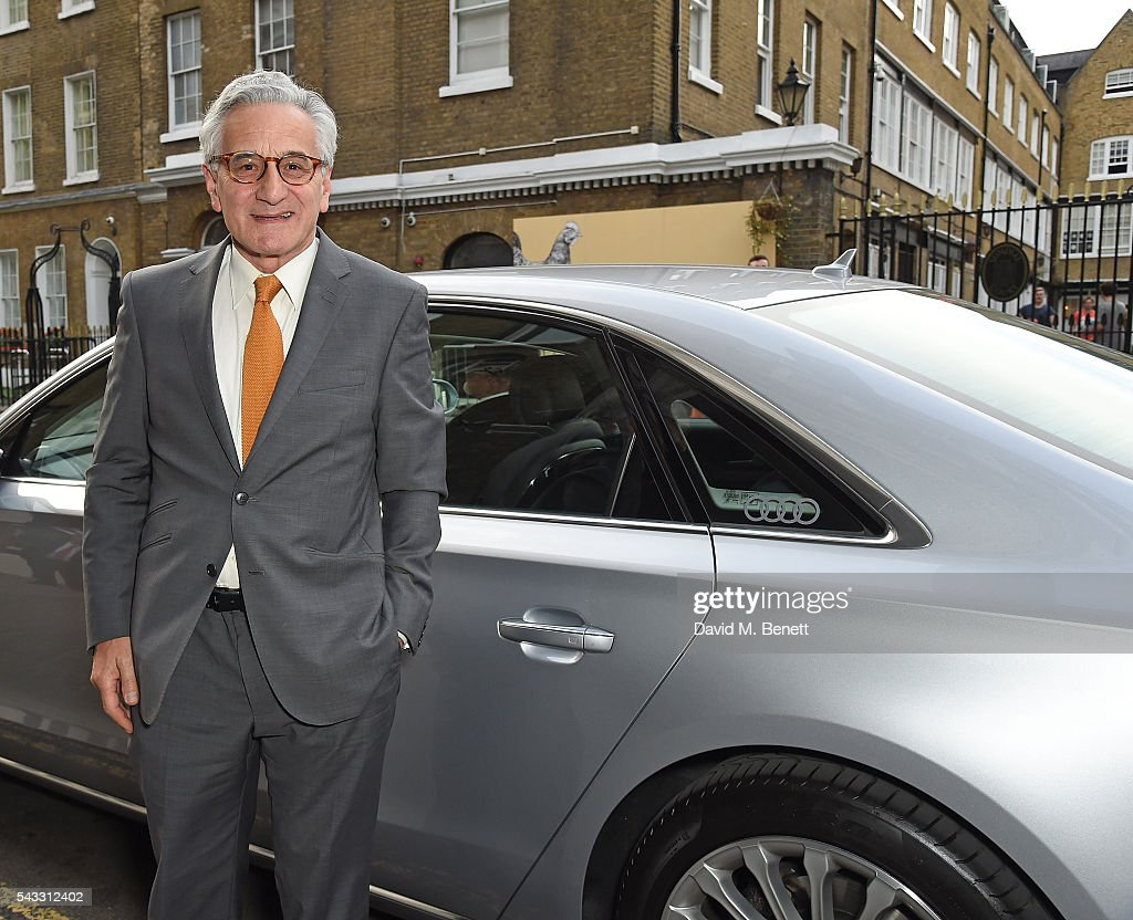 <a gi-track='captionPersonalityLinkClicked' href=/galleries/search?phrase=Henry+Goodman&family=editorial&specificpeople=2133519 ng-click='$event.stopPropagation()'>Henry Goodman</a> arrives in an Audi at The Old Vic Summer Gala on June 27, 2016 in London, England.