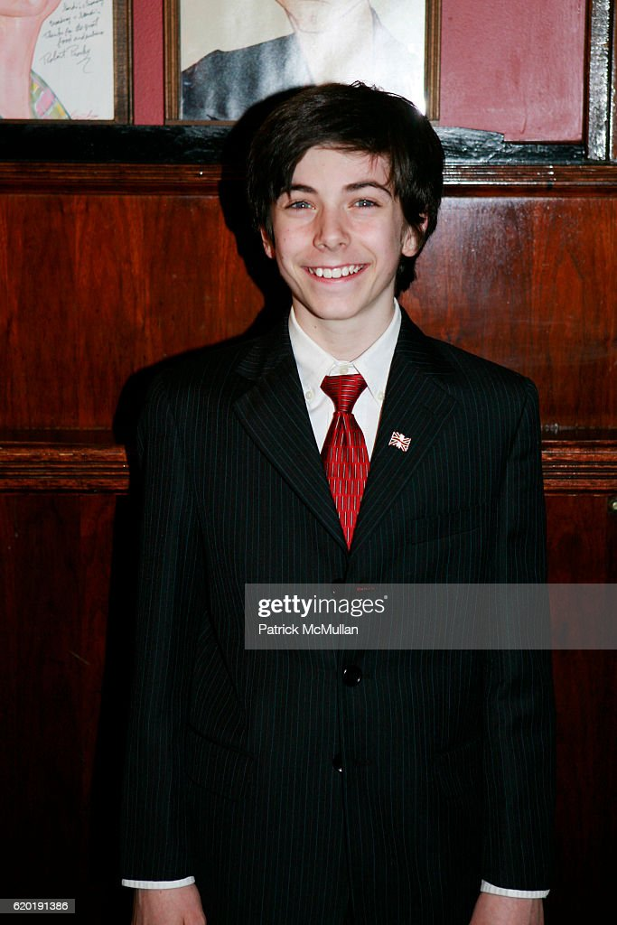 Henry Hodges attends Broadway Premiere of Macbeth Starring Patrick Stewart at The Lyceum Theater on April 8, 2008 in New York City.