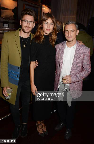 Henry Holland Alexa Chung and Richard Nicoll attend The Business of Fashion celebrating the #BOF500 the people shaping the global fashion industry at...