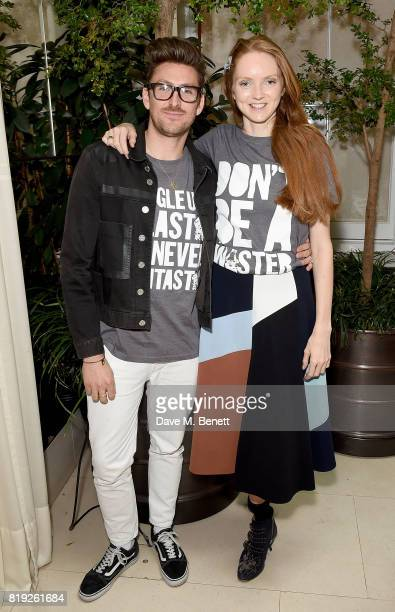 Henry Holland and Lily Cole launch recycled plastic #swapforgood charity tshirts designed by Henry Holland in conjunction with BRITA to draw...