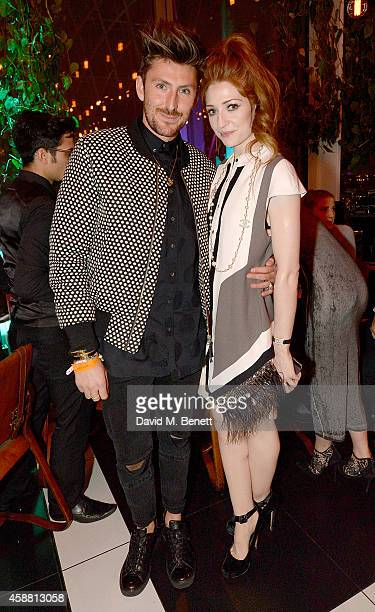 Henry Holland and Nicola Roberts attend as Sushisamba celebrates its second anniversary with a performance by Lily Allen and a VIP party at...