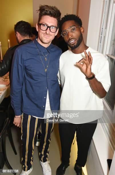 Henry Holland and Tinie Tempah attend the Clos19 launch dinner on May 10 2017 in London England