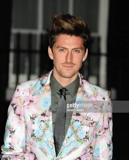Henry Holland attends 25th Anniversary Party For London Fashion Week at 10 Downing Street on September 15 2008 in London England