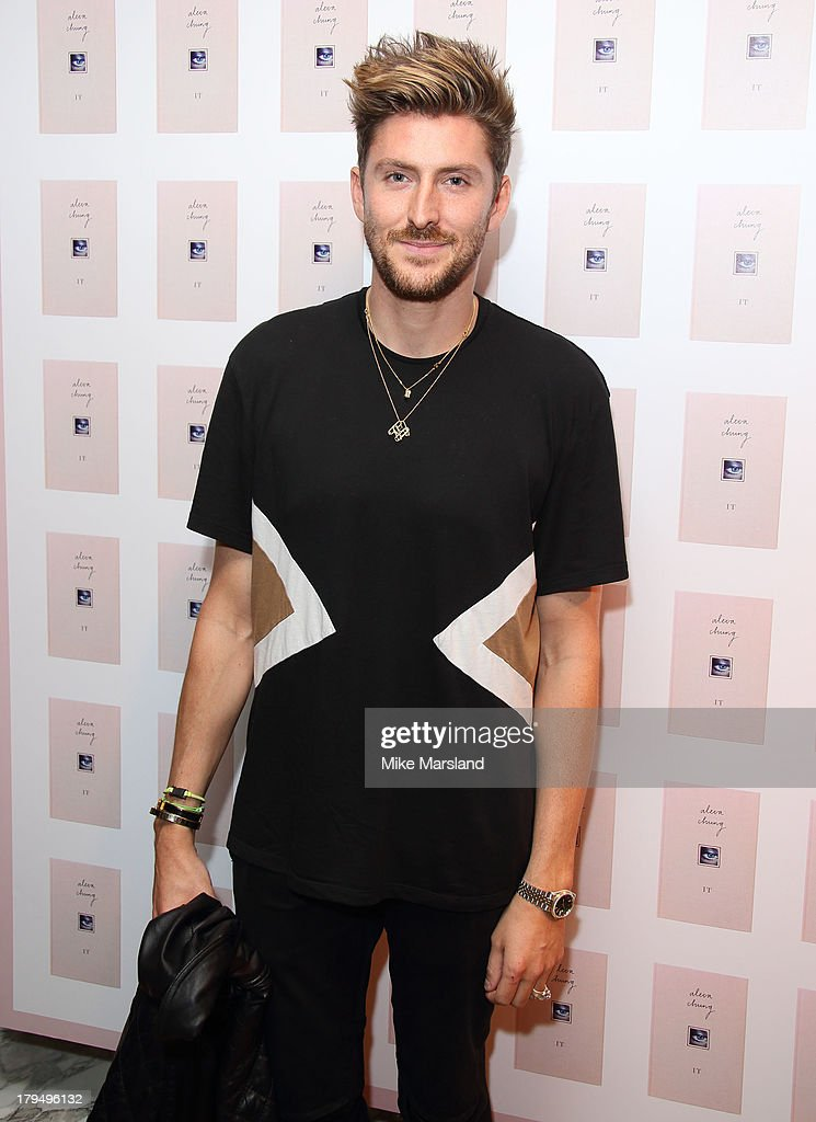 <a gi-track='captionPersonalityLinkClicked' href=/galleries/search?phrase=Henry+Holland+-+Fashion+Designer&family=editorial&specificpeople=1637233 ng-click='$event.stopPropagation()'>Henry Holland</a> attends as Alexa Chung celebrates the launch of her first book 'It' at Liberty on September 4, 2013 in London, England.