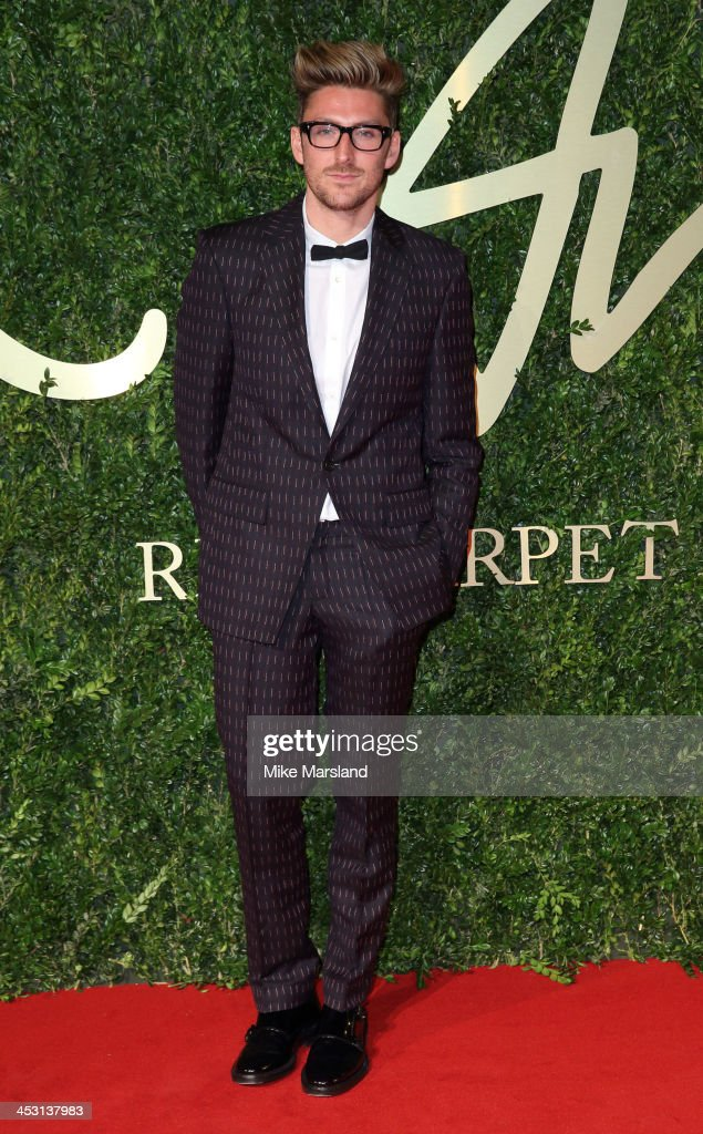 Henry Holland attends the British Fashion Awards 2013 at London Coliseum on December 2, 2013 in London, England.