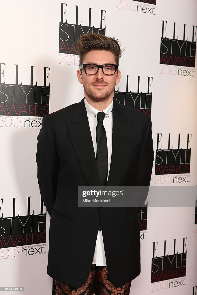 Henry Holland attends the Elle Style Awards 2013 at The Savoy Hotel on February 11, 2013 in London, England.