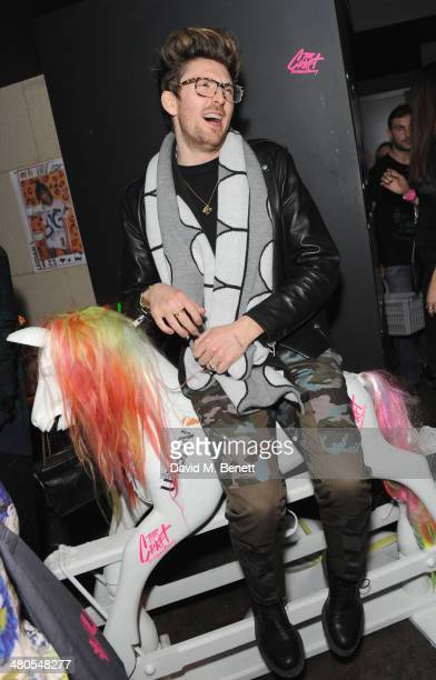Henry Holland attends the Fudge Urban Lou Teasdale Book Launch party on March 25 2014 in London United Kingdom