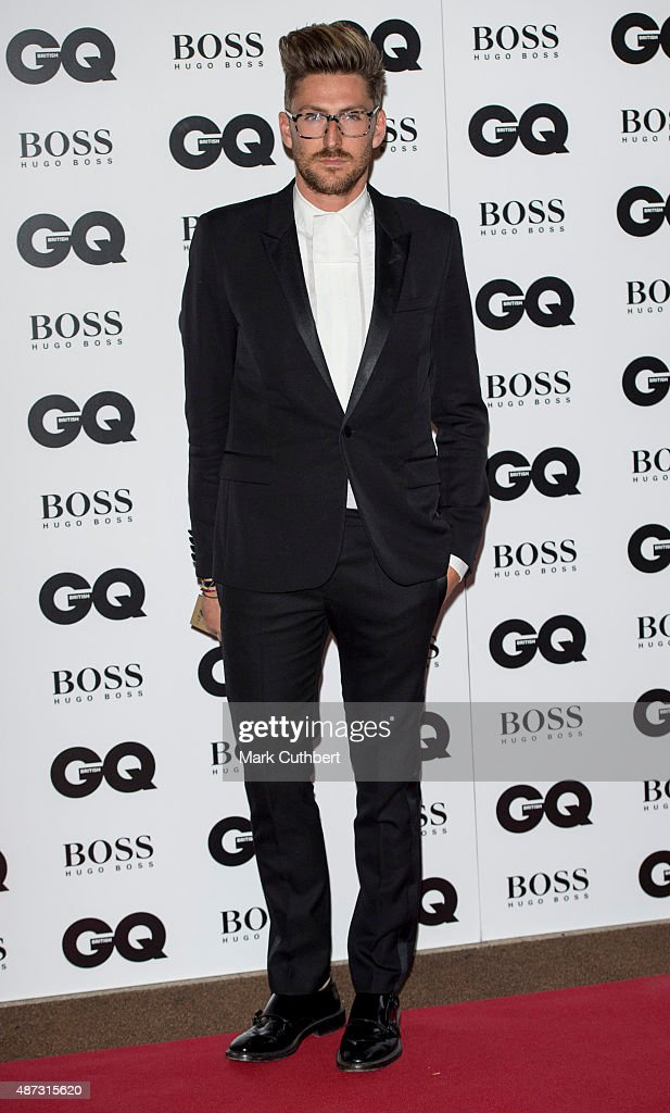 Henry Holland attends the GQ Men of the Year Awards at The Royal Opera House on September 8, 2015 in London, England.