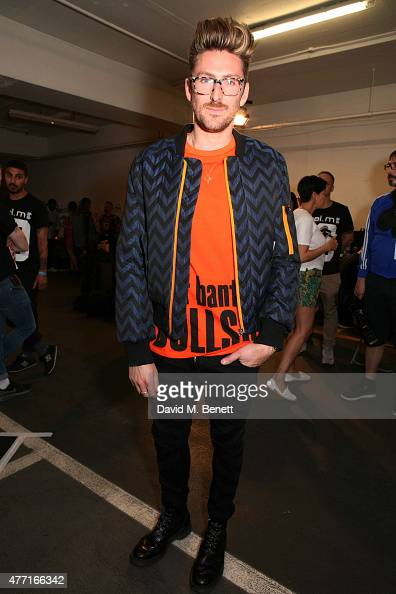 Henry Holland attends the House of Holland presentation during London Collections Men SS16 on June 14 2015 in London England