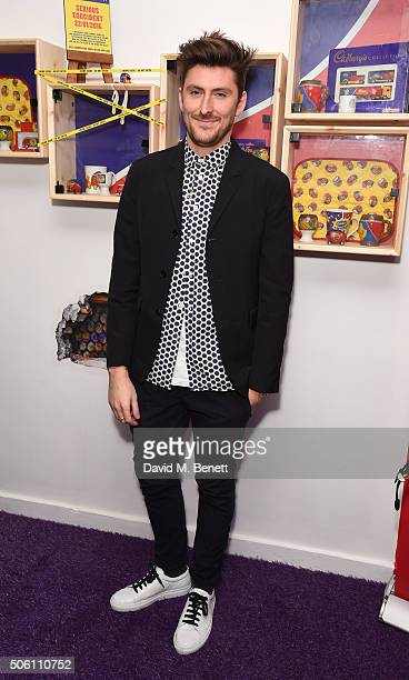 Henry Holland attends the launch of the Cadbury Creme Egg Cafe in Soho on January 21 2016 in London England