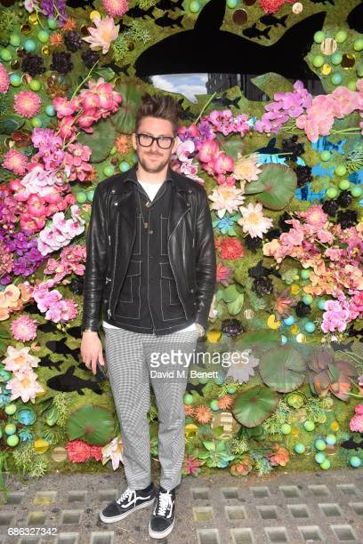 Henry Holland is seen at Nick Grimshaw's Sexy Brunch at Sexy Fish on May 21 2017 in London England