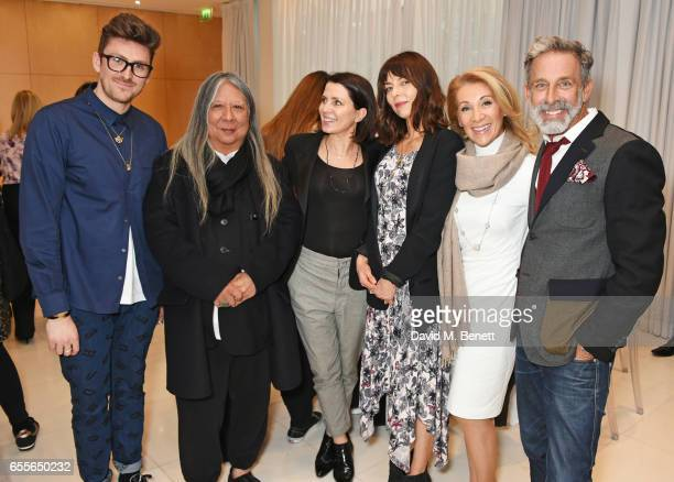 Henry Holland John Rocha Sadie Frost Jemima French Aliza Reger and Ben de Lisi attend the Debenhams Summer 17 Salon Show with global supermodel...