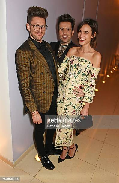 Henry Holland Nick Grimshaw and Alexa Chung attend the British Fashion Awards official afterparty hosted by St Martins Lane and sponsored by Ciroc...