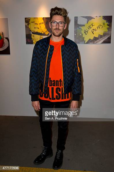 Henry Holland poses for photographs during the House of Holland presentation during The London Collections Men SS16 at on June 14 2015 in London...