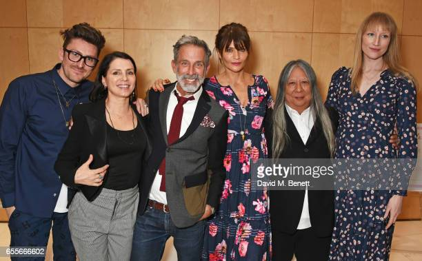 Henry Holland Sadie Frost Ben de Lisi Helena Christensen John Rocha and Jade Parfitt attend the Debenhams Summer 17 Salon Show with global supermodel...