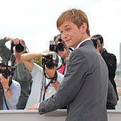 Henry Hopper at the photo call for 'Restless' during the 64th Cannes International Film Festival