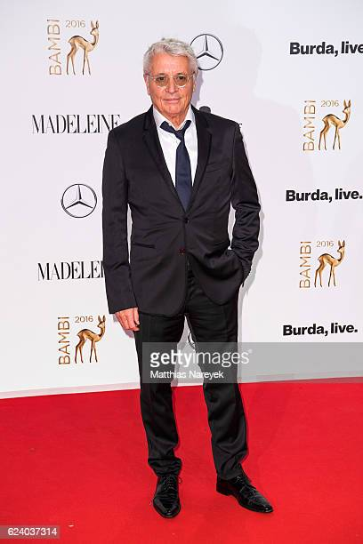 Henry Huebchen arrives at the Bambi Awards 2016 at Stage Theater on November 17 2016 in Berlin Germany