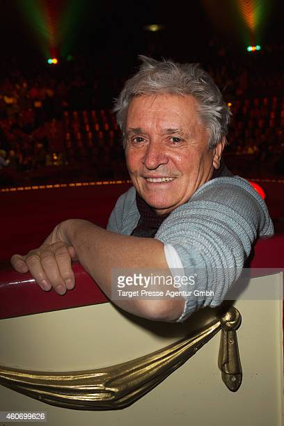 Henry Huebchen attends the 11th Roncalli Christmas Circus at Tempodrom on December 19 2014 in Berlin Germany