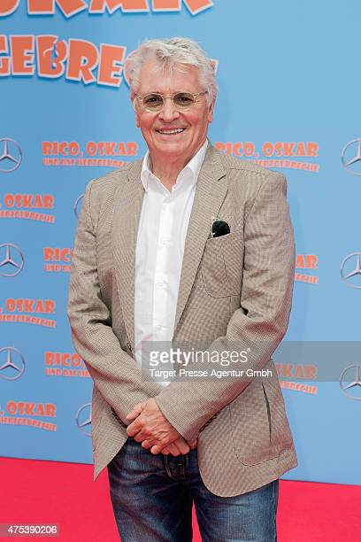 Henry Huebchen attends the Berlin premiere for the film 'Rico Oskar und das Herzgebreche' at Zoo Palast on May 31 2015 in Berlin Germany