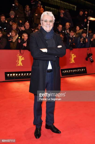 Henry Huebchen the 'Django' premiere during the 67th Berlinale International Film Festival Berlin at Berlinale Palace on February 9 2017 in Berlin...