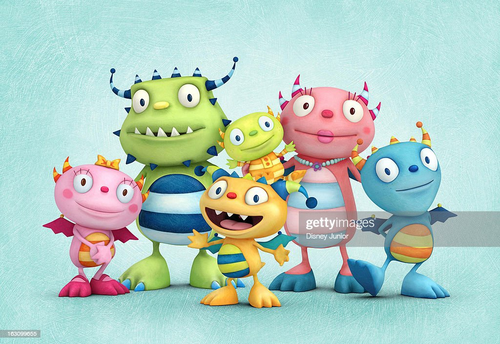 HUGGLEMONSTER - 'Henry Hugglemonster' - A new animated series about a family of fun-loving monsters, will premiere MONDAY, APRIL 15 (5:00 p.m., ET/PT) on the 24-hour Disney Junior channel in the U.S. Based on the book series I'm a Happy Hugglewug by award-winning children's book author/illustrator and Ireland's Children's Laureate, Niamh Sharkey, 'Henry Hugglemonster' follows the adventures of five-year-old Henry Hugglemonster, the middle child in a happy, close-knit monster family, as he shares everyday life lessons that are relatable to kids age 2-7. SUMMER, DADDO, HENRY, IVOR, MOMMA, COBBY
