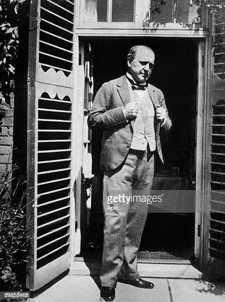 Henry James american naturalized english writer here c 1905