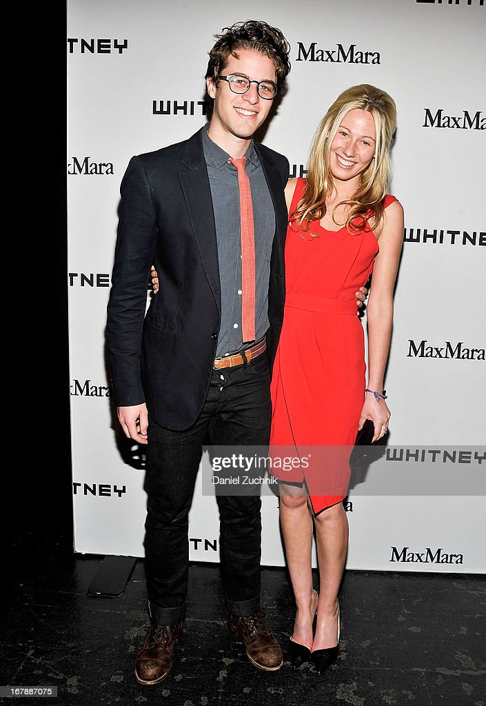 Henry Joost and Olivia Sandelman attend the 2013 Whitney Art Party at Skylight at Moynihan Station on May 1, 2013 in New York City.