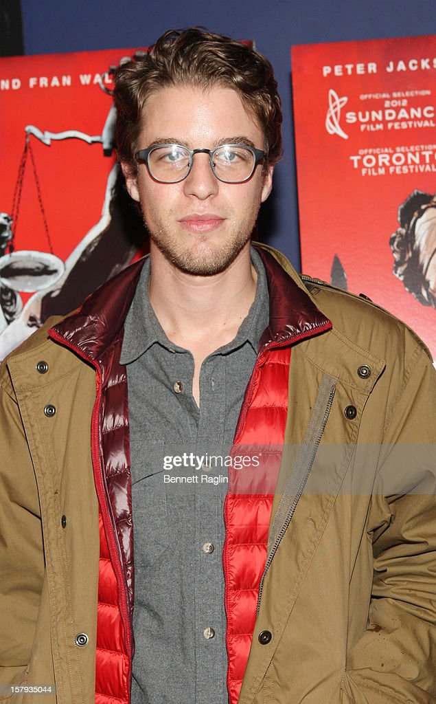 Henry Joost attends the 'West Of Memphis' premiere at Florence Gould Hall on December 7, 2012 in New York City.