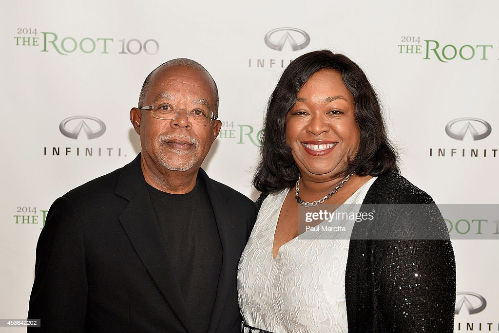Henry Louis Gates Jr and Shonda Rhimes attend the Root 100 2014 List Release Reception on August 19 2014 in Edgartown Massachusetts