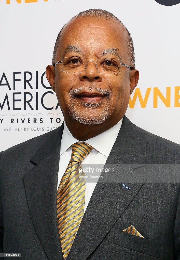 Henry Louis Gates, Jr. attends 'The African Americans: Many Rivers to Cross' New York Series Premiere at the Paris Theater on October 16, 2013 in New York City.