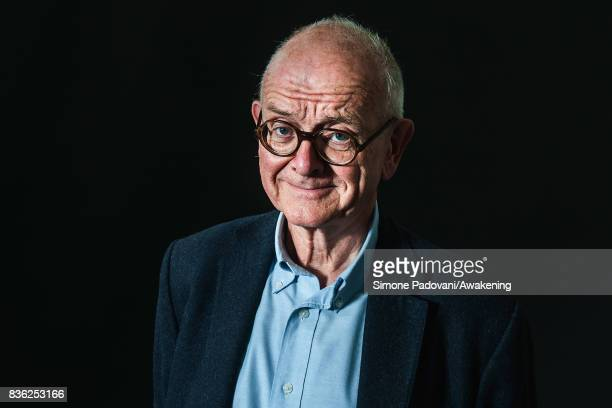 Henry Marsh attends a photocall during the Edinburgh International Book Festival on August 21 2017 in Edinburgh Scotland