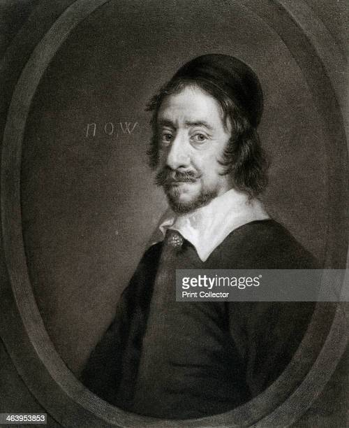 Henry Marten English regicide 17th century Portrait of Marten found guilty of taking part in the death of King Charles I Illustration from Samuel...