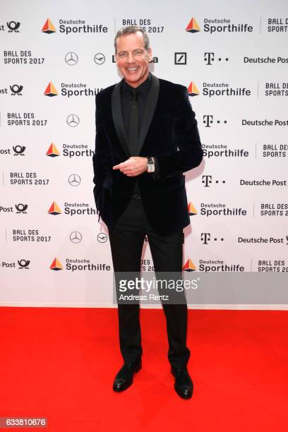 Henry Maske attends the German Sports Gala 'Ball des Sports 2017' on February 4 2017 in Wiesbaden Germany