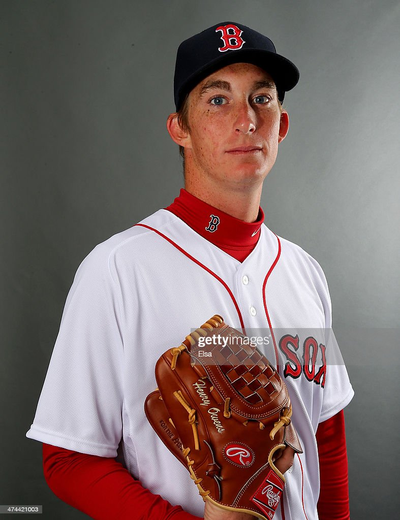 <a gi-track='captionPersonalityLinkClicked' href=/galleries/search?phrase=Henry+Owens&family=editorial&specificpeople=680587 ng-click='$event.stopPropagation()'>Henry Owens</a> #76 of the Boston Red Sox poses for a portrait during Boston Red Sox Photo Day on February 23, 2014 at JetBlue Park in Fort Myers, Florida.