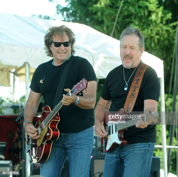 Henry Paul and Steve Grisham of The Outlaws performs at the 8th Annual Rock Ribs Ridges Festival at Sussex County Fairgrounds on June 25 2017 in...