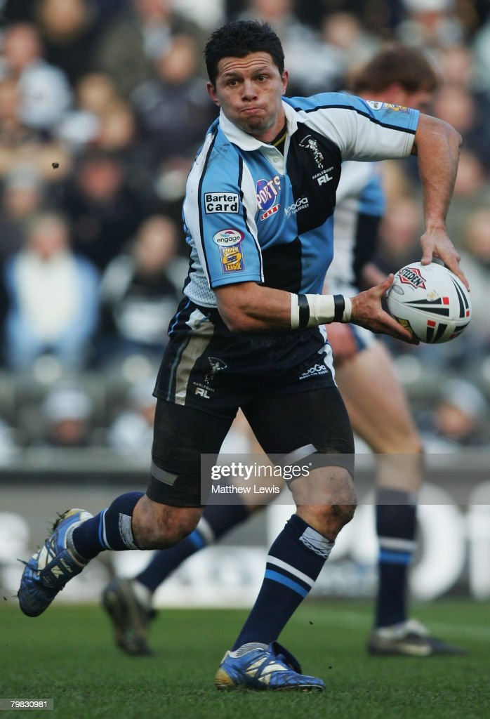 Henry Paul of Harlequins RL in action during the engage Super League match between Hull FC and Harlequins RL at the KC Stadium on February 17 2008 in...