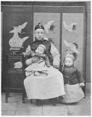 Henry P'ui c1910 Henry P'ui the last emperor of China whose Imperial titles were HsuanTung and K'angTe He holds the hand of his father Prince Ch'un...